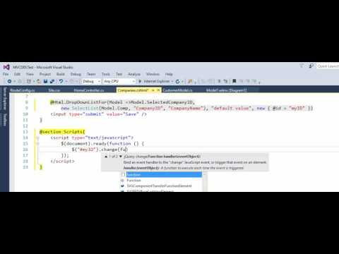 MVC -  jQuery -  How to get selected text and ID from DropDownList in jQuery