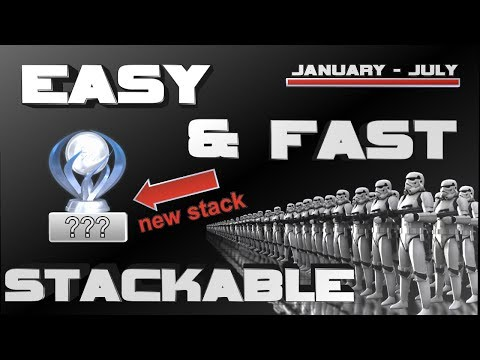 Easy & Fast  Stackable PS4 Platinum Games 2017 - January - July
