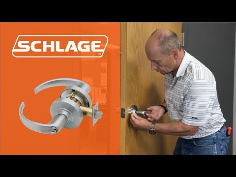 How to Install the Schlage ND Lock