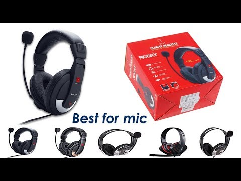 Best voice recording headphone Unboxing | headphone with mic