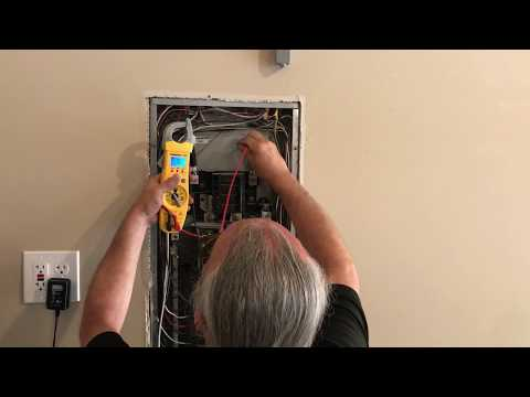Lennox AC units not cooling incoming power issue called power co