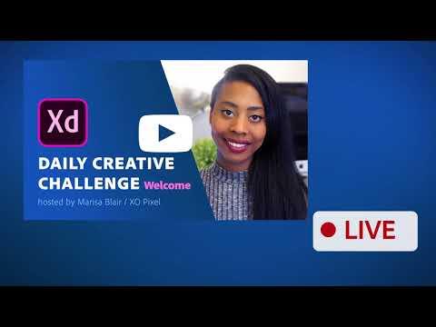 I'm Hosting the XD Daily Creative Challenge 🎉 | XO PIXEL
