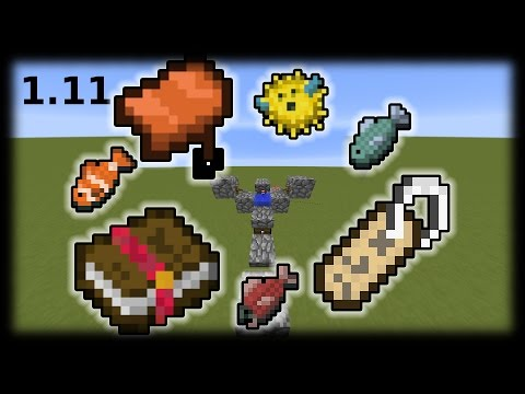 Minecraft 1.11: Simple automatic Fishfarm (Works in SMP)