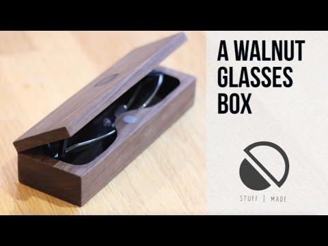 DIY Wood / Leather Glasses Case