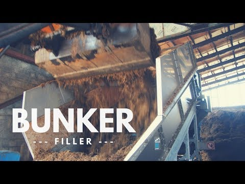 Composting Machinery - Fast Filling of Composting Bunker