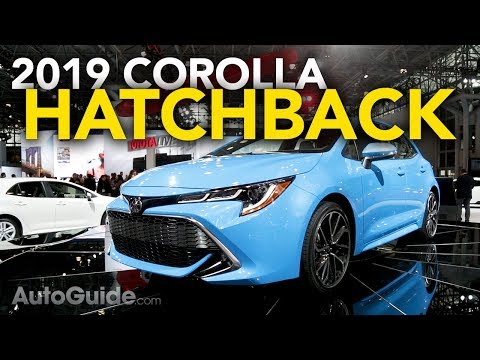 2019 Toyota Corolla Hatchback First Look - 2018 New York Auto Show
