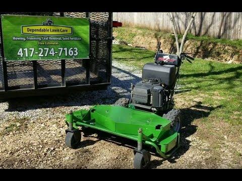 Brush Mower Build Part 1 of 2
