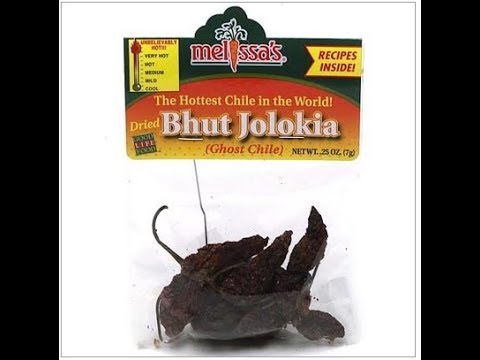Melissa's Dried Bhut Jolokia Ghost Chile Pepper Pod Review