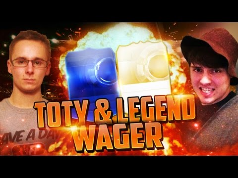 FIFA 15 TOTY WAGER + LEGEND WAGER CHALLENGE VS XDUO | FIFA 15 ULTIMATE TEAM (FUT 15)