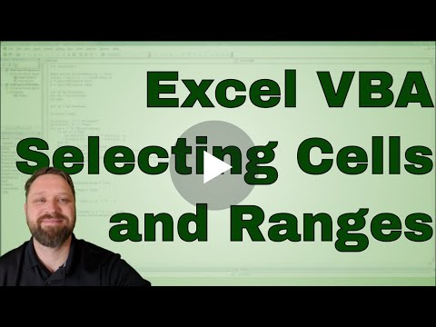 Selecting Cells in VBA - Sheets, Ranges, ActiveCell, SpecialCells, End, and Offset - Code Included