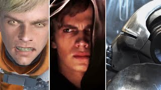 The Moments Luke, Anakin And Starkiller Turned To The Dark Side (Star Wars)