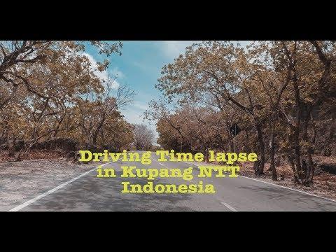 Driving time lapse photo in Kupang NTT Indonesia    Gopro Hero 5 Black