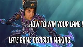 Things I learned with EG.Arteezy
