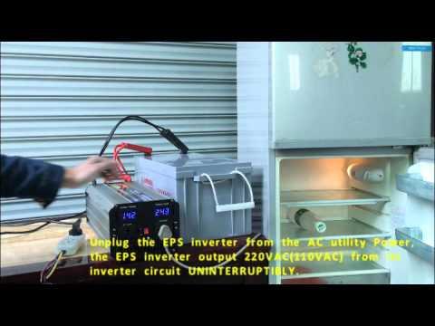 Scientek EPS inverter with UPS & Charger