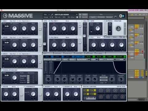Skrillex Wobble Bass in NI Massive