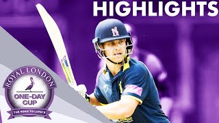 Sam Hain Smashes 161* in Tense Clash | Rapids v Bears |  Royal London One-Day Cup 2019 - Highlights