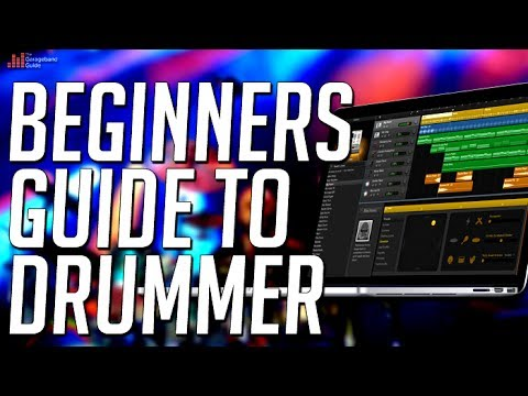 GarageBand - How To Use Drummer