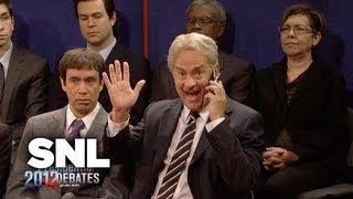 2012 Town Hall Presidential Debate - SNL