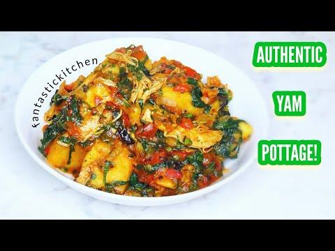 Authentic yam pottage/porridge! Yam pottage made special👌