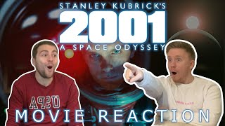 2001: A Space Odyssey (1968) MOVIE REACTION! FIRST TIME WATCHING!!