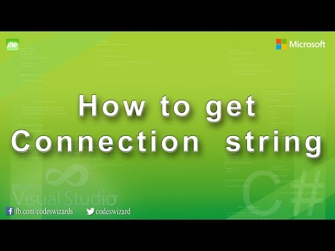How to get SQL Server & Oracle connection string in Visual Studio : Basic DOT NET hacks
