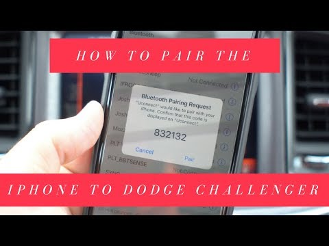 How to Pair an iPhone to the Dodge Challenger