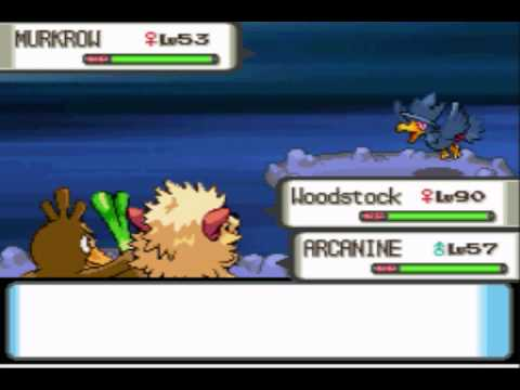 Pokemon Pearl Farfetch'd Only Run Part 28: Dark Minutes