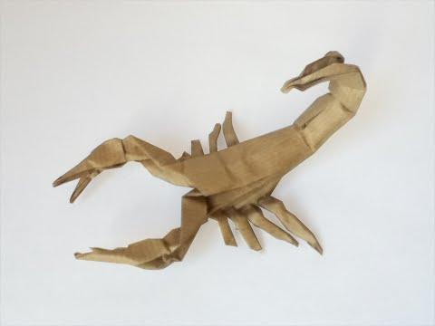 Origami Scorpion tutorial (Robert J. Lang) - Part 1