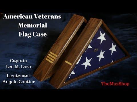 How to Make: Veteran's Memorial Flag Display Case