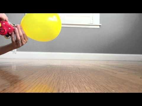 Balloon Powered Juice Box Car