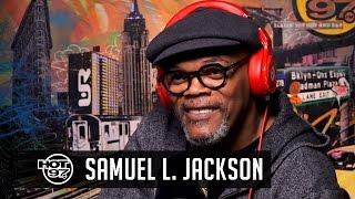 Download Samuel L. Jackson Talks ″Kong″, Racism and Trump + The Influx of British Black Actors Video