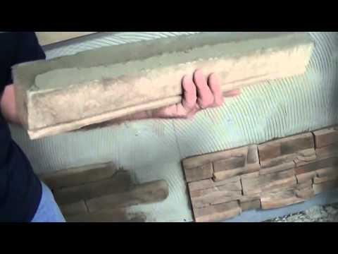 Installing Manufactured Stone, Window Sills & Trims   Heritage Stone
