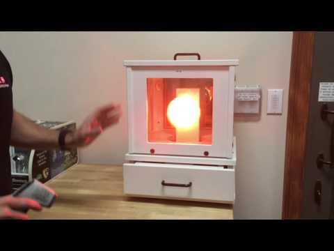 Heat Lamp Demo- Single Pane Vs Double Pane