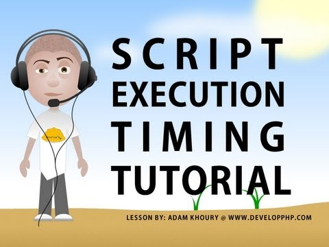 Script Execution Timing Tutorial For Javascript and Actionscript Server Call Speed Test
