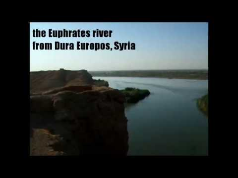 Dura Europos by the Euphrates river in Syria