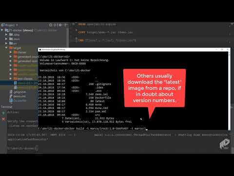 Packaging your .jar or .war files into a Docker container | Docker & Java