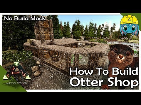 How To Build an Otter Shop :: ARK: Building w/ Fizz (No MODS)