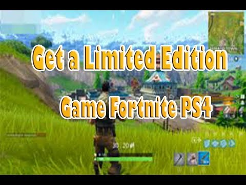 FRIST TIME PLAYING FORTNITE PS4 ON CAMERA