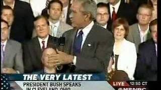 Bush On Health Care It S All Your Fault