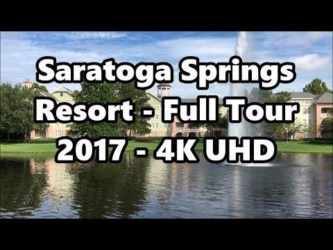 Disney's Saratoga Springs Resort | Full Tour 2017 | 4K UHD | Walt Disney World