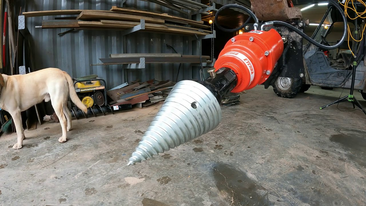 Buying an excavator auger attachment