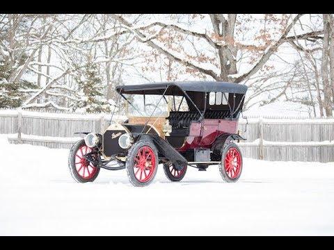 1910 PREMIER MODEL 4-40 FIVE PASSENGER TOURING