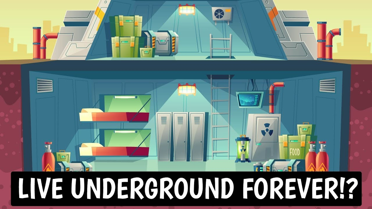 Could You Survive Living In An Underground DOOMSDAY Bunker?