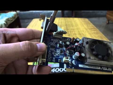 How To Change Graphics Card Bracket [2016]