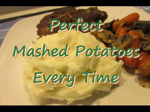 PERFECT Fluffy MASHED POTATOES Every Time Recipe