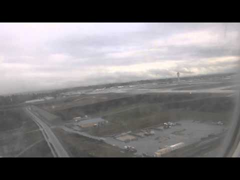 Take Off Vancouver Airport For Seattle - Jackson Hole Ski Trip - 6th February 2015 2