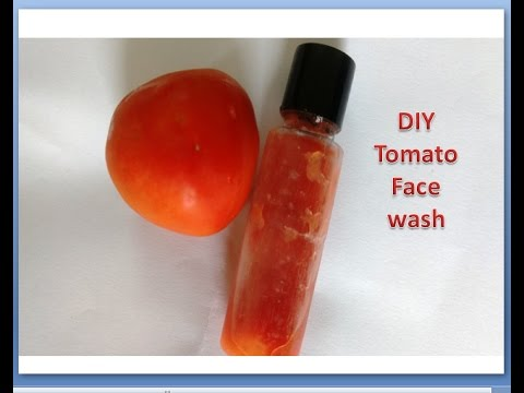Homemade Tomato Face wash/Face Wash for Rosy & Radiant skin/Stay Beautiful With Anky