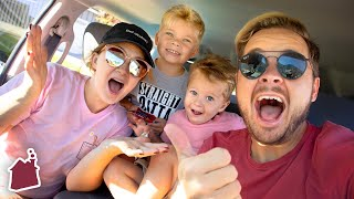 Road Tripping to TOP SECRET LOCATION! 🤫 (Driving Q&A)