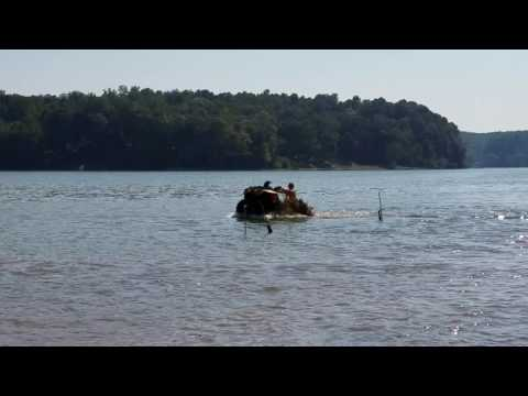 Can Am water wheelies on Kentucky Lake at Mason's Boat Dock!!!Tennessee Pond Scum