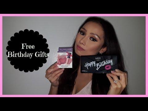 Sephora & Ulta Free Birthday Gifts Review